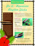 Make Your Own Pu'ili - Hawaiian Rhythm Sticks