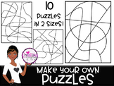 Make Your Own Puzzles Clip Art