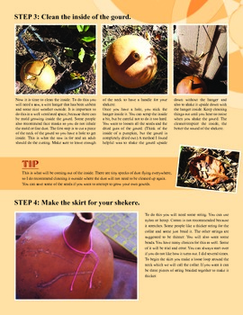 Make Your Own Shekere (African Percussion Instrument) Tutorial