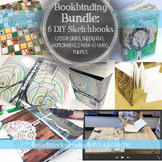 Make Your Own Sketchbook Bookbinding Bundle: Six DIY Sketchbook Lessons
