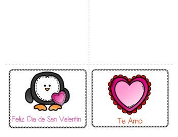 Make Your Own Spanish Valentines!