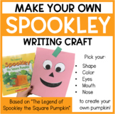 Spookley the Square Pumpkin - Writing Craftivity