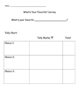 Make Your Own Survey - Bar Graph