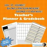 Make Your Own Teacher Planner & Gradebook