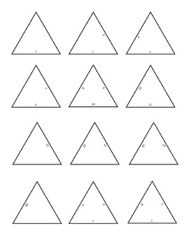 Make Your Own Triangle Puzzle