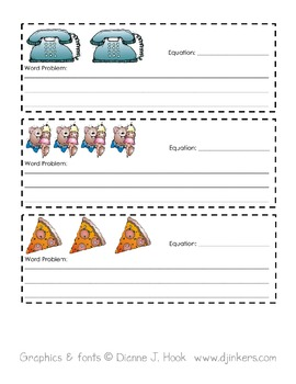 Make Your Own Word Problem Book