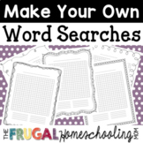 Make Your Own Word Searches with ANY Word List