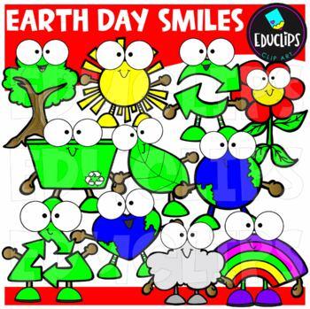 Make Your World Smile Clip Art Bundle {Educlips Clipart}