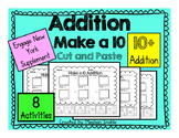 Make a 10 Addition Cut & Paste (10+ Addition) Engage New Y