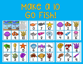 Make a 10 Go Fish