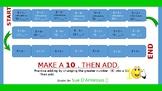 Make a 10. Then Add.   N + 8