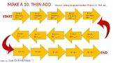Make a 10. Then Add.  N + 9