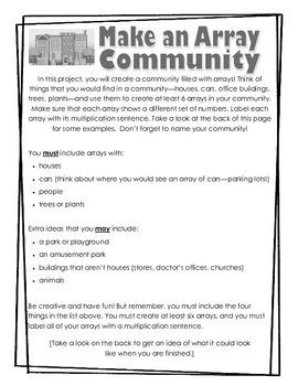 Make an Array Community