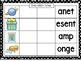 Make a Blend Center Word Work Center (CCSS)