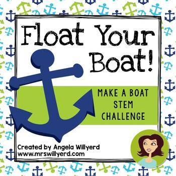STEM Challenge - Float Your Boat 3-Day Challenge  - Grades 5-8 - PPT
