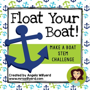 STEM Challenge - Float Your Boat 3-Day Challenge  - Grades 5-8 - PPT