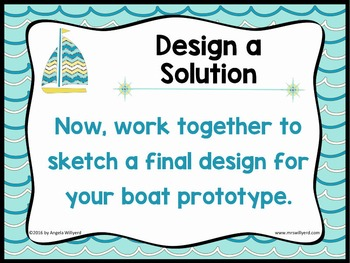 STEM Challenge - Make a Boat 3-Day Challenge SMART Notebook - Grades 5-8