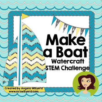 STEM Challenge - Make a Boat 3-Day Challenge SMART Noteboo