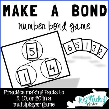 Make a Bond - Number Bond Game!