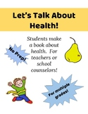 Make a Book About Health for Elementary Students-No Prep,