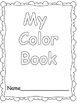 Make a Book- Colors, Shapes, and Numbers 0- 20