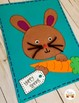 Make a Bunny Craft and Writing Topper Pages