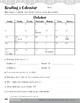Make a Calendar (Schedules and Calendars)