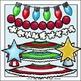Make a Christmas Tree Clip Art Set - Chirp Graphics