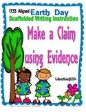 Earth Day Make a Claim Writing