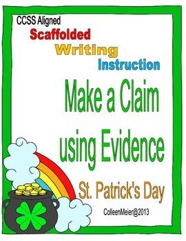 Make a Claim ~ St. Patrick's Day Writing