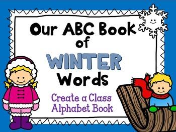 Winter Alphabet Book (Class Book)