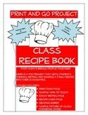 """Class Recipe Book """"How-To"""" Writing & Presentation"""