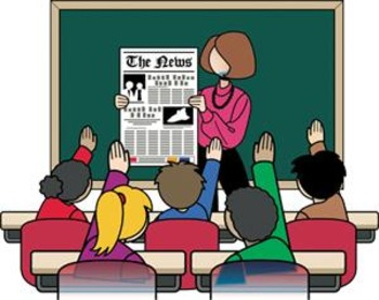 Reading Lesson Activities ~ Make a Classroom Newspaper ~ Text & Graphic Features