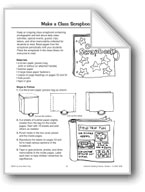 Make a Classroom Scrapbook