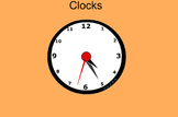 Make a Clock- Everyday Math Grade 3 Lesson 1.4