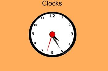 Make a Clock- Everyday Math Grade 3 Lesson 1.4