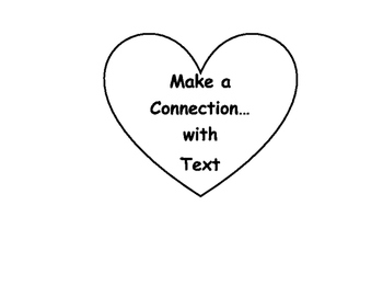 Make a Connection...With Text! Hearts Flap Book