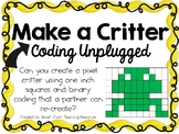 Make a Critter ~ Coding Unplugged Challenge ~ STEM