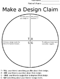 Make a Design Claim for NGSS Design Projects