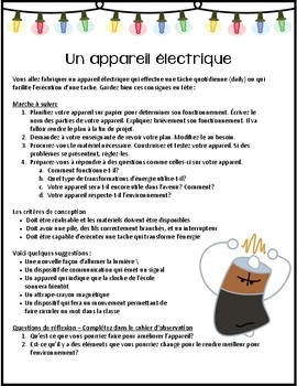 Make a Device - French