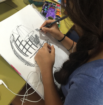 Make a Drawing with Circular Perspective