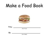 ELL Make a Food Book