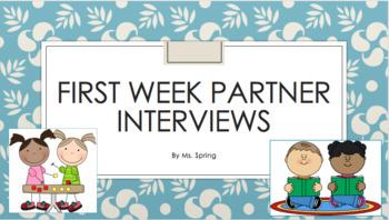 Make a Friend Partner Interview