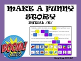 Make a Funny Story! Mad Libs for Initial /k/- BOOM Cards!