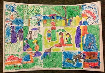 Make a Giant Seurat Painting!