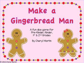 Make a Gingerbread Man Game