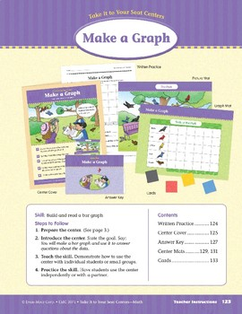 Make a Graph (Take It to Your Seat Centers Common Core Math)