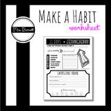 Make a Habit Handout