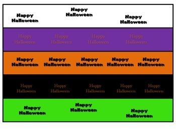 Make a Halloween Paper Chain