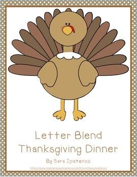 Make a Letter Blend Thanksgiving Meal